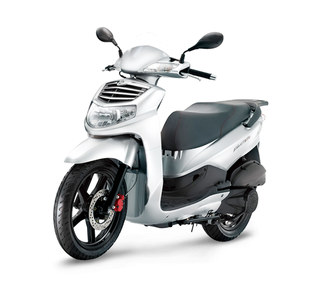 SYM HD 125 evo BLANCO