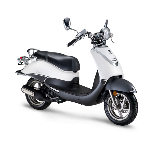 SCOOTER ALLO 125 BLANCO