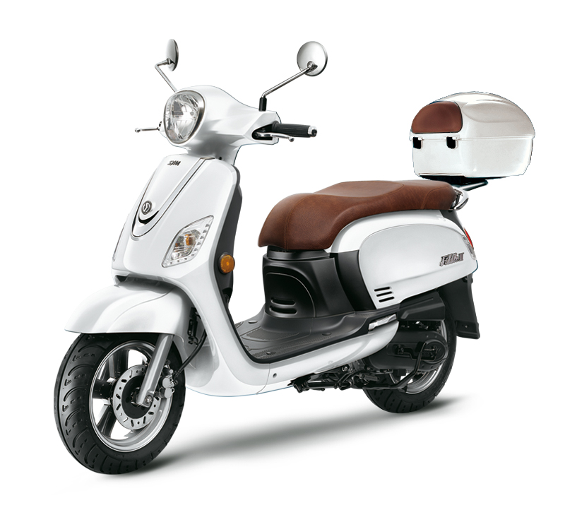 SYM SCOOTER FIDDLE III 50 blanco