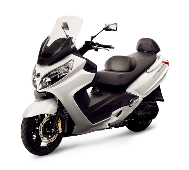 SYM SCOOTER HD 2 200i BLANCO