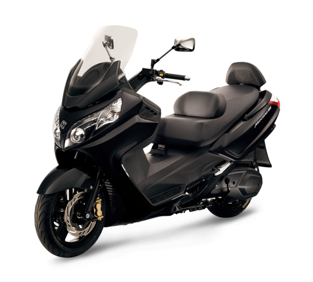 SYM SCOOTER HD 2 200i NEGRO