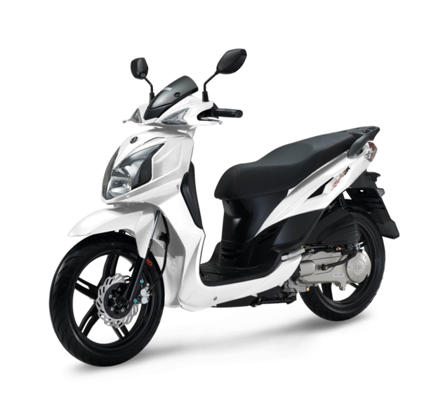 SYM SCOOTER SYMPHONY RS 50 blanca