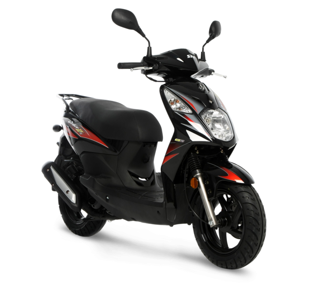 sym scooter Orbit 50 2T negro