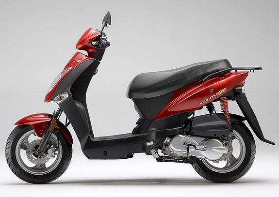 KYMCO SCOOTER AGILITY 125 roja