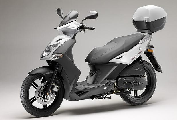 KYMCO SCOOTER AGILITY CITY 125 blanca
