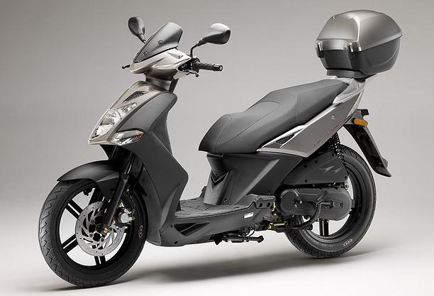 KYMCO SCOOTER AGILITY CITY 125 gris
