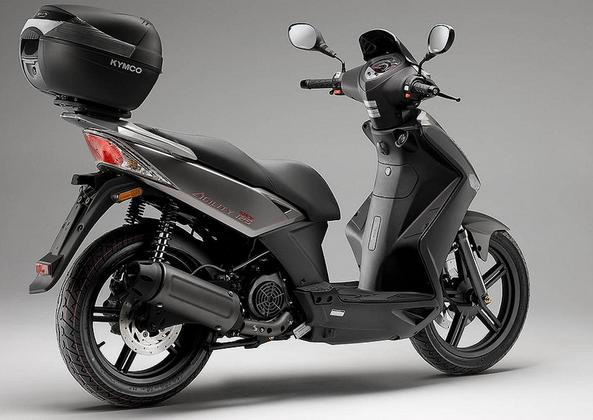 KYMCO SCOOTER AGILITY CITY 125 negra