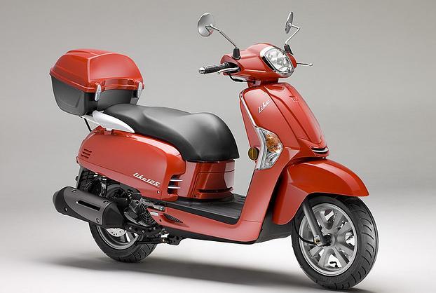 kymco scooter like 50 roja