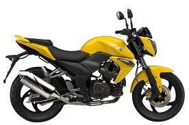 moto sym wolf 125cc amarilla