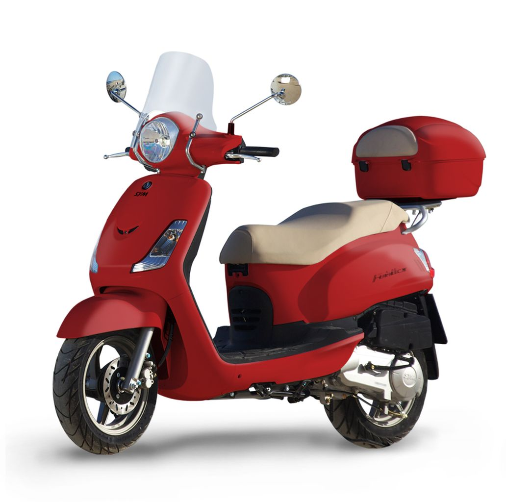 SYM SCOOTER FIDDLE II 50 S ROJO