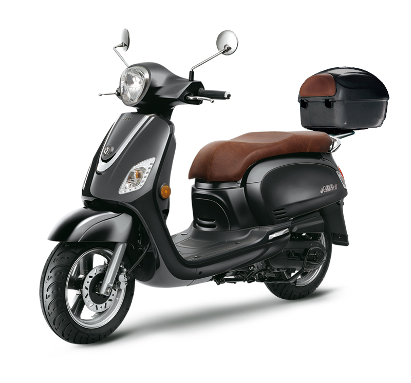 SYM SCOOTER FIDDLE III 50 negro