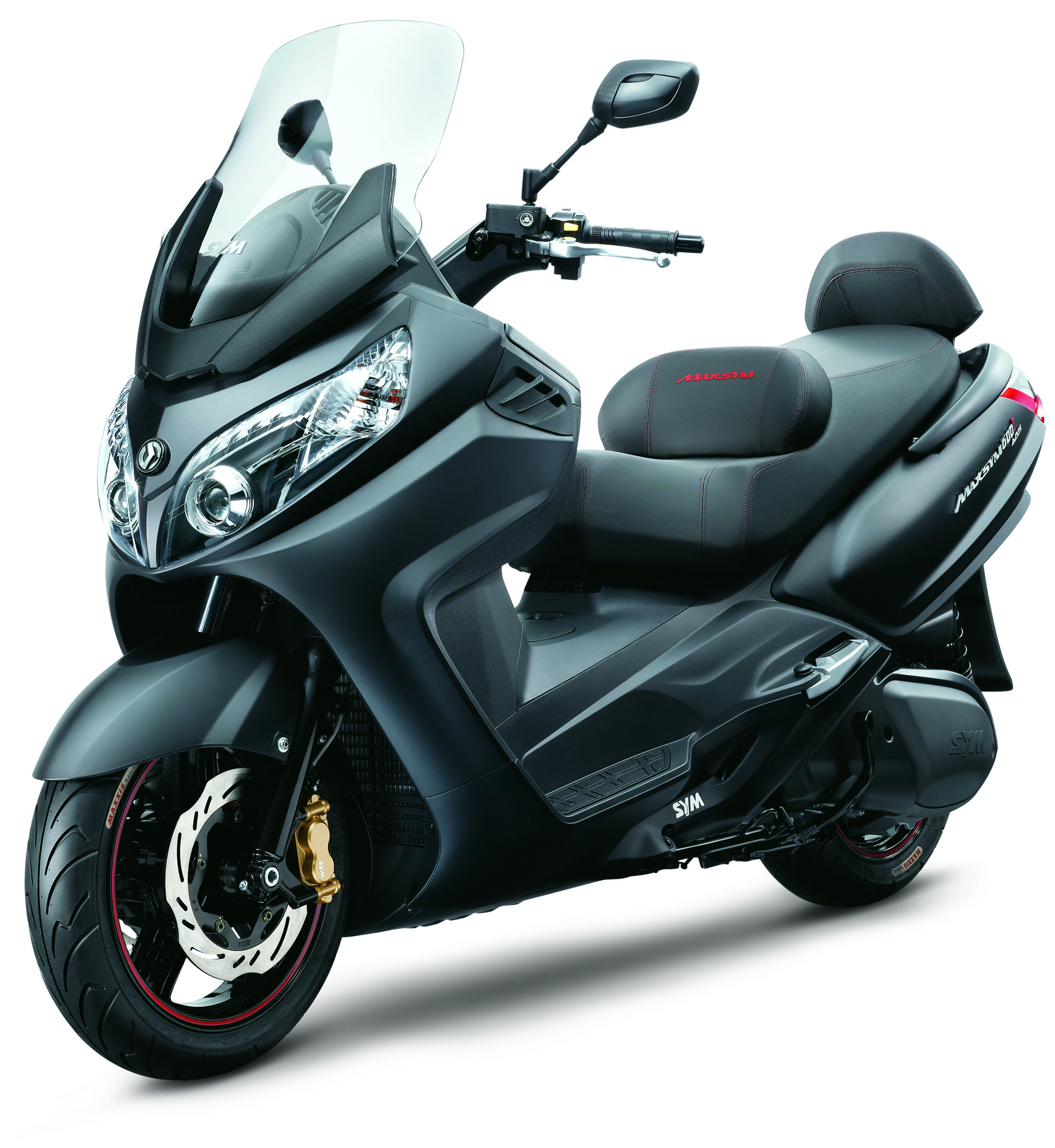 SYM SCOOTER MAXSYM 600i ABS SPORT NEGRO